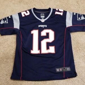 ECU Patriots Jersey - Tom Brady - youth medium